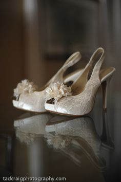 Wedding shoes! Photo by Tad Craig Photography