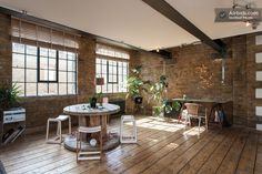 Bright 3 Story Central London Loft in London London Vacation Rentals, Wood Plank Flooring, Beautiful Homes, Beach House, Living Spaces, Sweet Home, Interior Design, Outdoor Decor, Lofts