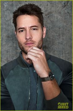Picture of Justin Hartley Beautiful Men Faces, Gorgeous Men, Facial Hair Growth, Justin Hartley, Taylor Kitsch, Evolution Of Fashion, Celebrity Portraits, Dream Guy, Good Looking Men