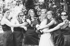 A proper bridal party photo.