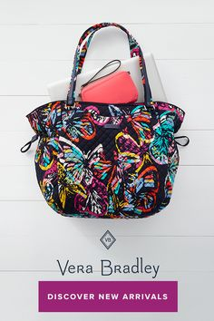 e92ac0657737 10 Best Vera Bradley New Arrivals- Butterfly Flutter (Hidden Board ...