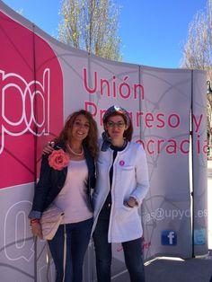 En #Mijas con compañeros de @upyd y @MaitePagaza
