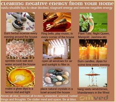 Vastu Shastra, the source science of Feng Shui, recommends simple ways to CLEANSE your home.