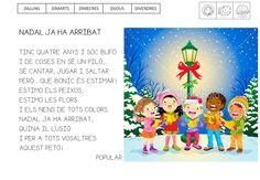QUÉ HACEMOS HOY EN EL COLE?: POEMA DE NADAL Christmas Verses, Album, School, Blog, Montessori, Winter, Google, Frases, Home