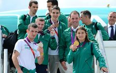 irish medal winners, 4 boxing, 1 equestrian