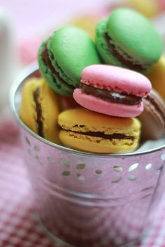 masam manis: MACARONS and step by step