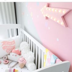 Inspiring (And Easy) Kmart Hacks To Try Yourself - The Style Insider Girl Nursery, Girls Bedroom, Indie Bedroom, Nursery Ideas, Bedrooms, Baby Items Must Have, Baby Girl Wallpaper, Little Girl Rooms, Girls Dream