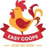 15 DIY Chicken Coop Plans by Easy Coops™ Walk In Chicken Coop, Chicken Coop Pallets, Backyard Chicken Coop Plans, Easy Chicken Coop, Chicken Coop Designs, Chicken Tractors, Chicken Runs, Chickens Backyard, Bird Feeder Stands