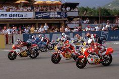 Crosby starting grid 1982
