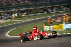 Niki Lauda (AUT) (Scuderia Ferrari), Ferrari 312B3 - Ferrari Tipo 001 3.0 Flat-12 (finished 5th)  1974 British Grand Prix, Brands Hatch