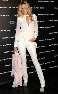 Petra Nemcova from Stars at New York Fashion Week Spring 2015 | E! Online