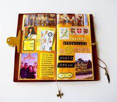 "123 Me gusta, 3 comentarios - claudia (@plannerandcolor) en Instagram: ""Finished! #travelersnotebook #travelerscompany #midoritravelersnotebook #leathernotebook #leather…"""