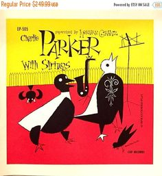 On Sale Charlie Parker with strings EP by TerenceLoveVintage