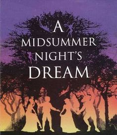 This cover depicts the forest and the characters like Bottom, Titania, etc all interacting together. One can also see a few if the fairies flying near the trees. Through the use of the sun-setting background, the mood is festive and lively and accurately depicts summer.