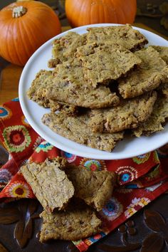 Toffee Pumpkin Cookie Brittle / Patty Price / Patty's Food