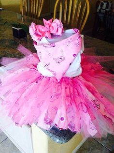 Cowgirl Tutu Party Set