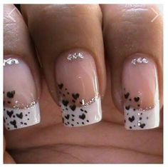 95 Amazing Romantic Heart Nail Art Designs, top 25 Valentine S Day Nail Designs with Hearts and Roses, Easy Valentine Nails, 40 Romantic Valentine S Day Nail Art Designs Heart Shape, Heart Designs for Nails 9000 Summer Nail Designs. Heart Nail Art, Heart Nails, French Manicure Nails, Gel Nails, Manicure Ideas, Acrylic Nails, Nail Nail, Nail Glue, Toenails