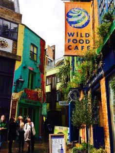 Neal's Yard, Covent Garden, London - How to experience London like a local on Passport and Plates!