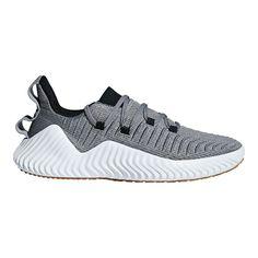 c27621b6a377d adidas Men s Alpha Bounce Training Shoes - Grey Black Green