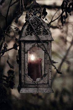 nice 15 Creepy Gothic Candle Holder Ideas for a Scary Halloween Simply Beautiful, Beautiful World, Light Luz, Magic Light, Gothic Garden, Gothic Fairy, Gothic House, Candle Lanterns, Garden Lanterns