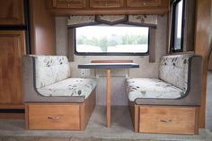 See how easy it is to Remove the Dinette Booth from your RV | MountainModernLife.com