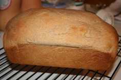 Basic Whole Wheat Bread with 100% wheat flour, and no bread machine.