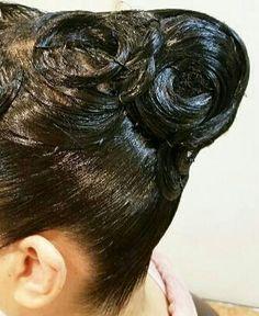 Helmet Hair, Ballroom Hair, Amazing Hair, Hairspray, Hair Oil, Updos, Cool Hairstyles, Lady, Hair Styles