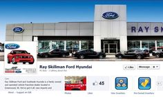 Keep Up To Date With Ray Skillman Ford And SouthSide Hyundai On Facebook!  Like Us