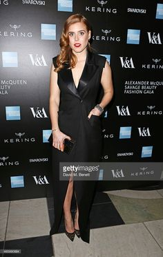 <a gi-track='captionPersonalityLinkClicked' href=/galleries/search?phrase=Princess+Beatrice+of+York&family=editorial&specificpeople=531999 ng-click='$event.stopPropagation()'>Princess Beatrice of York</a> arrives at the Alexander McQueen: Savage Beauty Fashion Gala at the V&A, presented by American Express and Kering on March 12, 2015 in London, England.