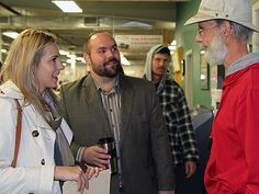 NDP MP visits Farmers' Market  Deputy agriculture critic Ellen Brosseau speaks to local farmers about agriculture issues
