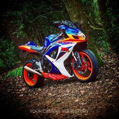 Find the style that works best for you. IG: @heagan29 #sportbike #bikelife #suzuki #gsxr600