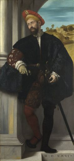 Moretto da Brescia - Ritratto di un uomo - 1526 -  - London, National Gallery