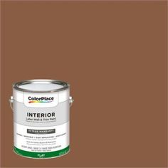 ColorPlace, Interior Paint, Fresh Baked Pumpernickel, #70YR 13/259, Silver