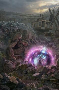 Apocalypse Art, Apocalypse Survival, World Of Fantasy, Sci Fi Fantasy, Cthulhu, Mad Max, Fallout, Roadside Picnic, Metro Last Light