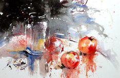 The Watercolour Log: Gerard Hendriks - A Master of Watercolour