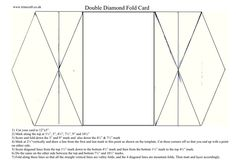 Double Diamond Fold Card | docrafts.com