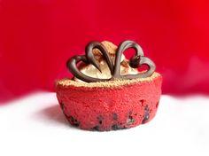 cheesecakes | Mini Red Velvet Cheesecakes