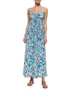 TA2V2 Rebecca Taylor Aloha Maxi Dress, Poolside