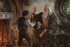 Tolkien Illustrations by Donato Giancola