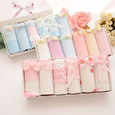 "Cute kawaii students bowknot briefs gift box SE10251      Coupon code""cutekawaii"" for 10% off"