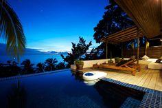 stunning tropical villa outdoor beach views