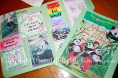 """Magic Tree House"" Lapbooks: A Perfect Time for Pandas (Elementary Levels) 