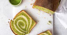 Ein Rezept für Matcha Kuchen mit Wirbel / Matcha Swirl Cake mit Thermomix-Variante