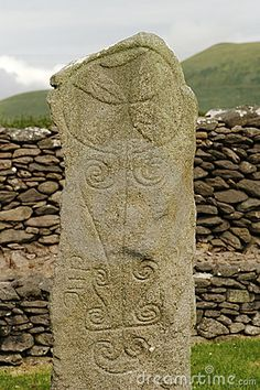 Ancient Celtic Tombstone #ruins #cemetery #archaeology