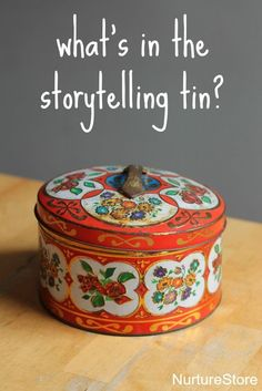 preschool storytelling basket