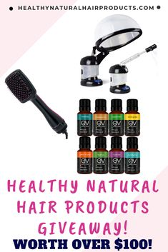 Healthy Natural Hair Products Quarterly Giveaway - Ends Aug 31 Make Hair Grow, How To Make Hair, Black Hair Quotes, Showers For Sale, Beauty Giveaway, Deep Conditioning Treatment, Essential Oils For Hair, Loose Skin, Natural Oils