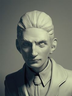 Kafka by Marro - digitally sculpted in Zbrush