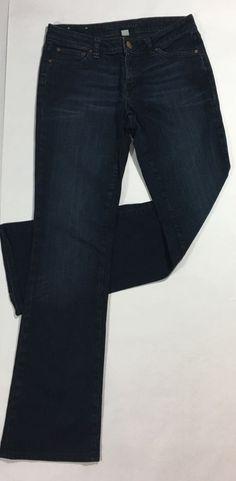 549b4c27be6 Womens BANANA REPUBLIC Slim Boot Jeans   Dark Stretch Cotton Denim (27)   BananaRepublic  BootCutSlimSkinny