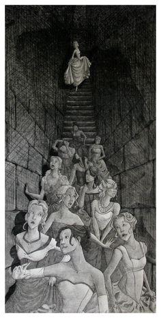 Down the Stairway Final by ~myreitha on deviantART