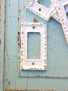 Hey, I found this really awesome Etsy listing at http://www.etsy.com/listing/104176301/metal-wall-decor-light-switch-cover